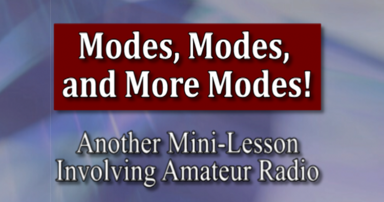 Modes, Modes, and More Modes