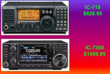 ICOM 718, IC-7300