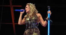 Carrie Underwood.  Custom Heil PR 35