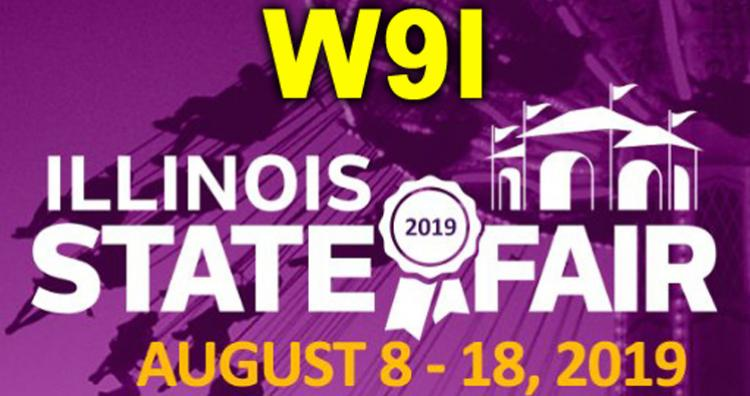W9I at the 2019 IL State Fair