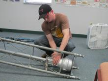 Mounting the rotor