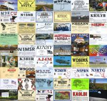 Montage of K9L QSL Cards