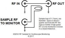 Signal sampling interface schematic