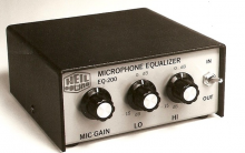 Heil Sound Microphone Equalizer