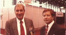 Ray Dolby and Bob Heil