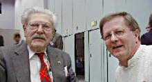 Paul Klipsch and Bob Heil