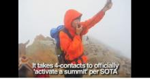 SOTA 4 contacts to Open a Summit WG0AT